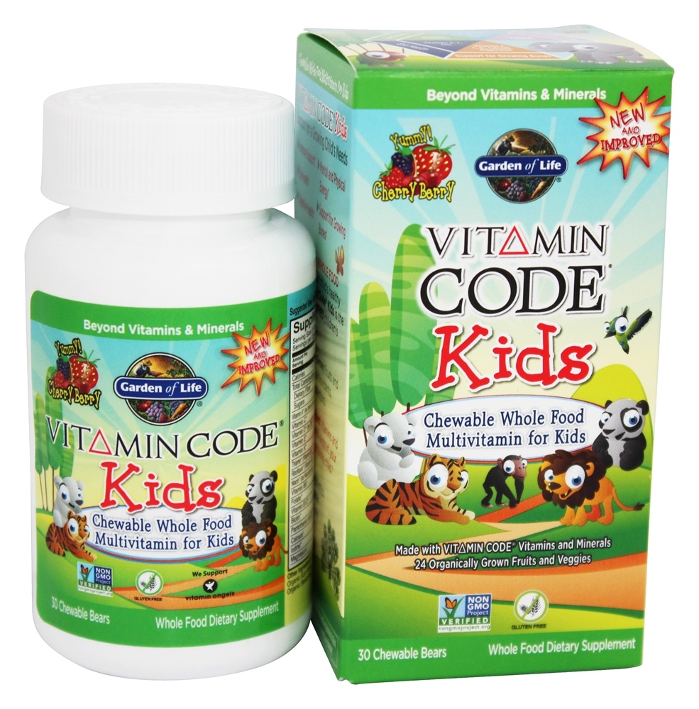 Buy garden of life vitamin code kids whole food - Garden of life vitamin code kids ...