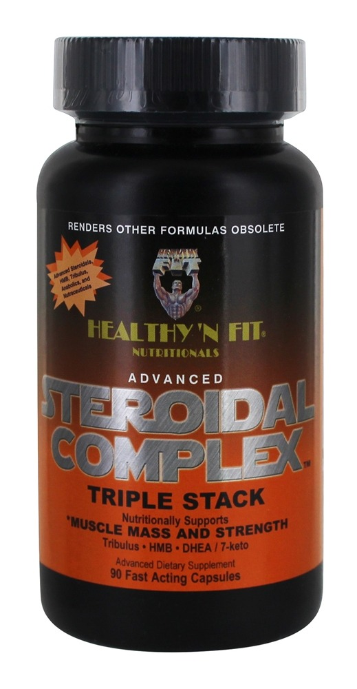 steroidal complex triple stack side effects