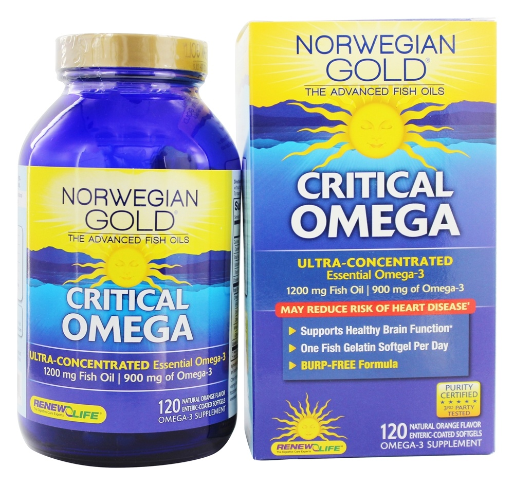 Buy renew life norwegian gold ultimate fish oils ultra for Fish oil substitute