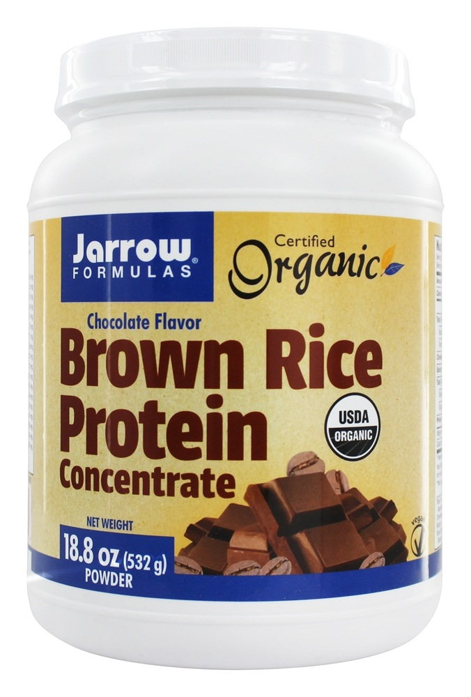 How is brown rice protein powder made