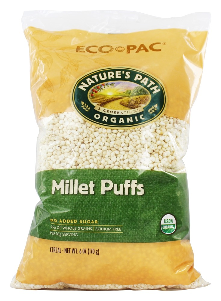 Buy Nature S Path Organic Cereal Millet Puffs 6 Oz At