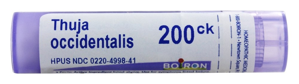 Thuja Occidentalis 200 CK - 80 Pellets by Boiron