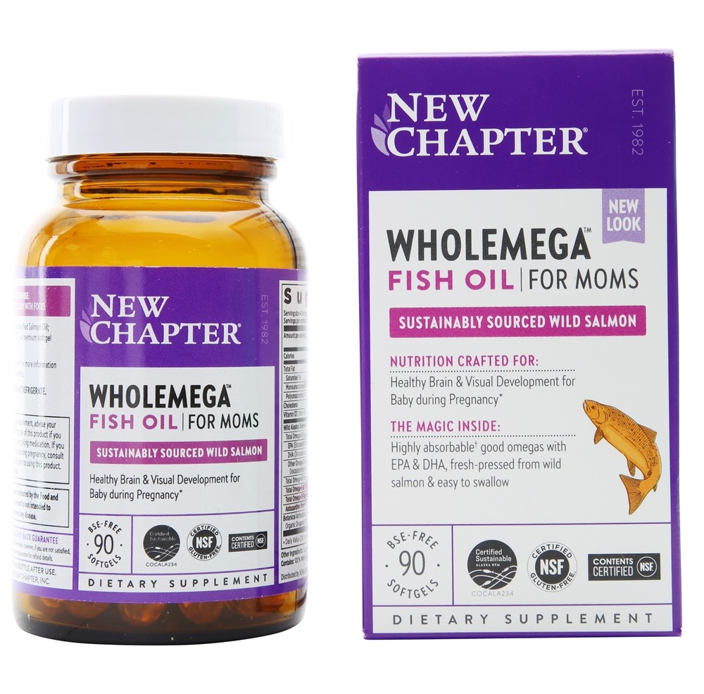 Buy new chapter wholemega prenatal fish oil 500 mg 90 for New chapter fish oil