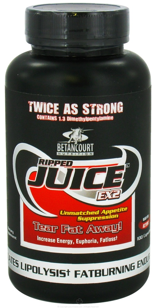 Buy Betancourt Nutrition - Ripped Juice EX2 - 100 Capsules at LuckyVitamin.com