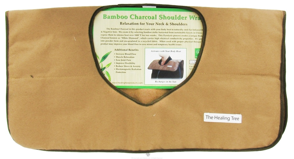3.52 Oz The Healing Tree Big Clearance Sale All Natural Bamboo Charcoal Soap
