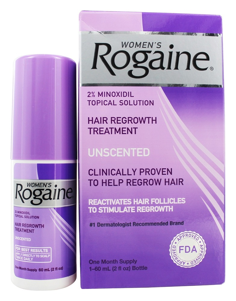 Buy Rogaine Women S Hair Regrowth Treatment Unscented