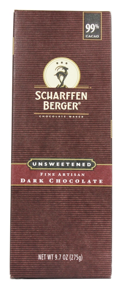 Baking Chocolate Bar 99 Cacao Unsweetened