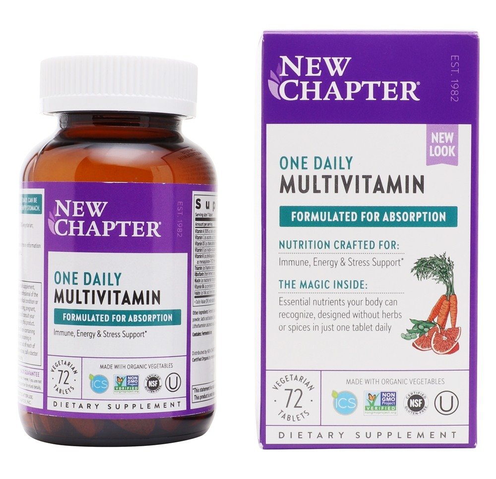 New Chapter Only One Whole Food Multivitamin