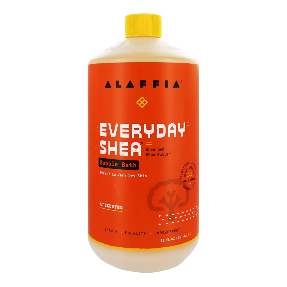 Buy alaffia deep moisture bubble bath with shea butter for How deep is a normal bathtub