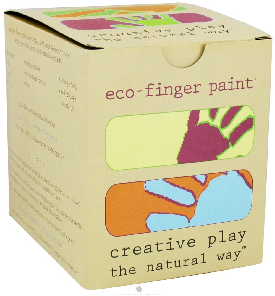 Buy Eco Kids Eco Paint Gluten Free 5 X 4 Oz Containers