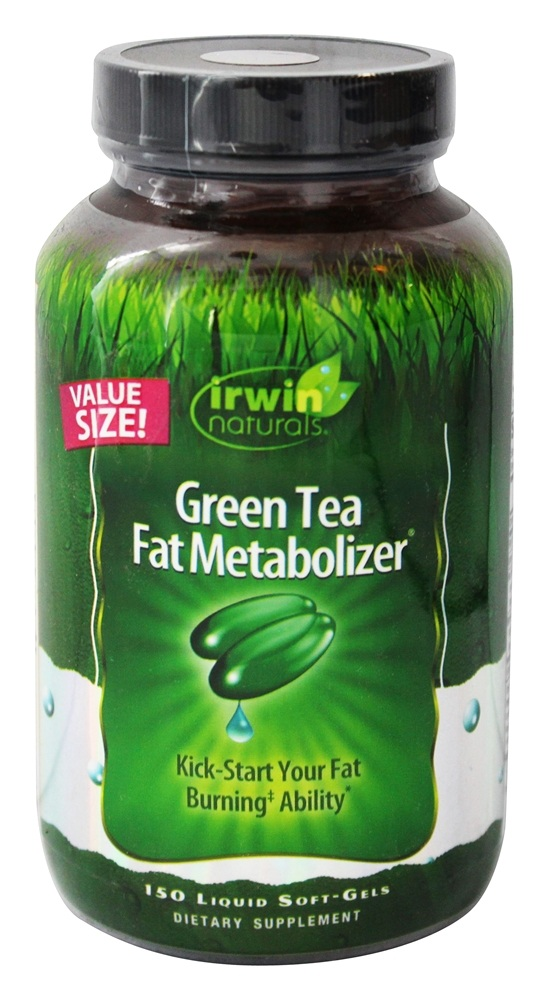 Buy Irwin Naturals - Green Tea Fat Metabolizer - 150 ...