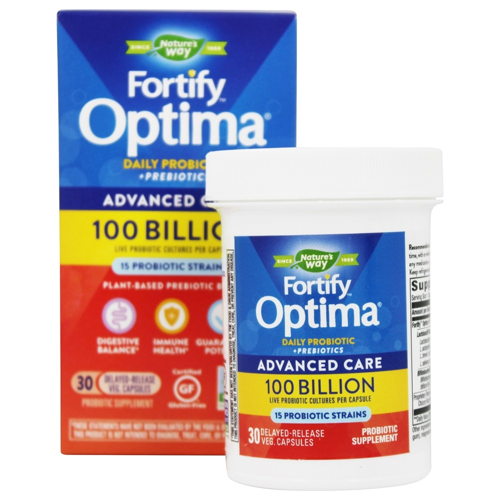 Primadophilus Optima Max Potency 100 Billion Active Probiotics - $26.35