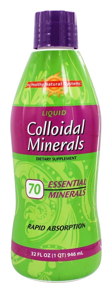 Buy Healthy Natural Systems Liquid Colloidal Minerals