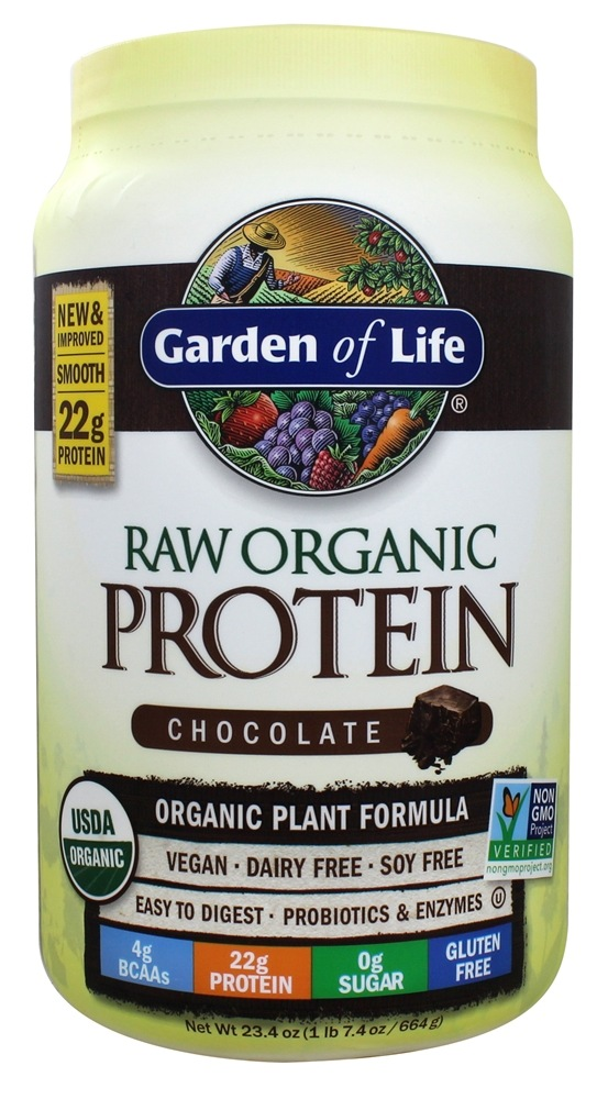 Buy Garden Of Life Raw Organic Protein Chocolate 23 Oz At