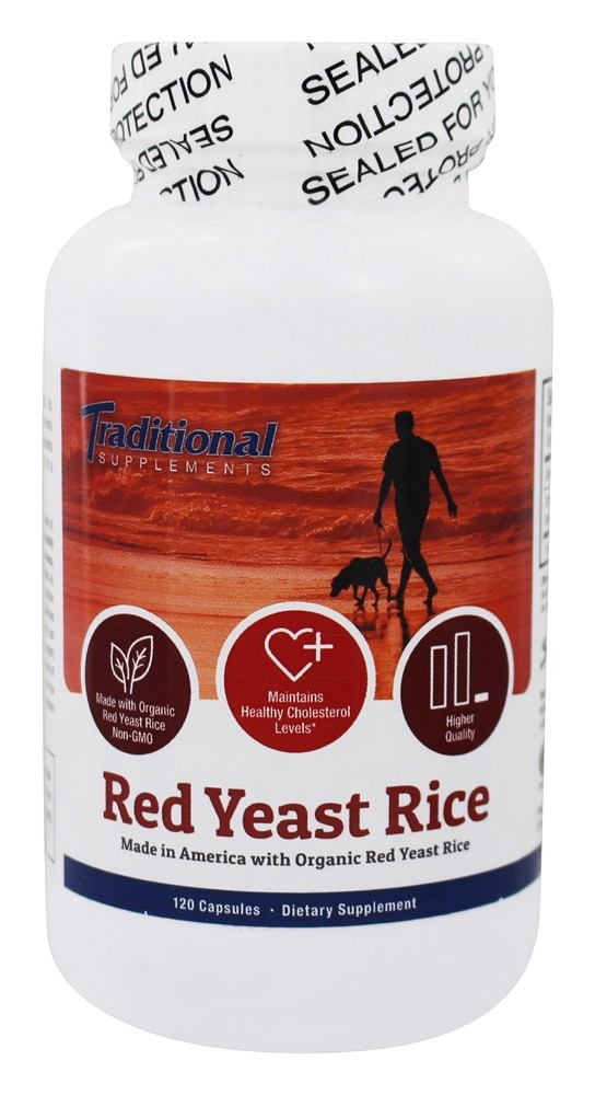 Buy Traditional Supplements Red Yeast Rice For Healthy