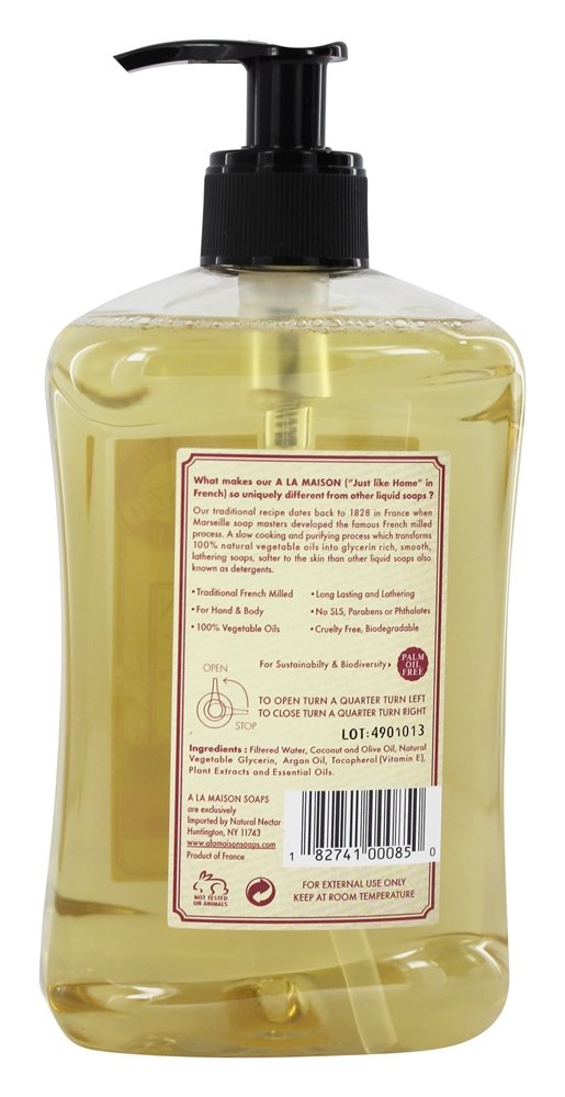 Buy a la maison traditional french milled liquid soap for A la maison thousand flowers
