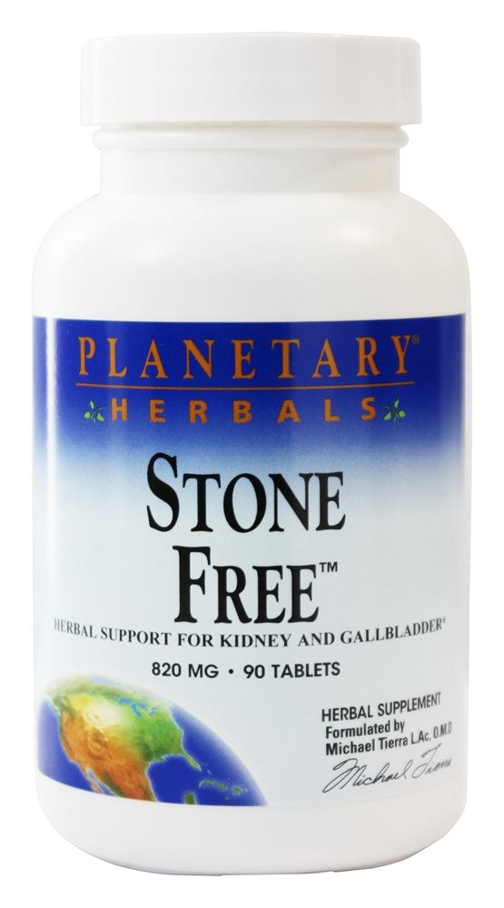 Buy Planetary Herbals Stone Free 820 Mg 90 Tablets At Luckyvitamin Com