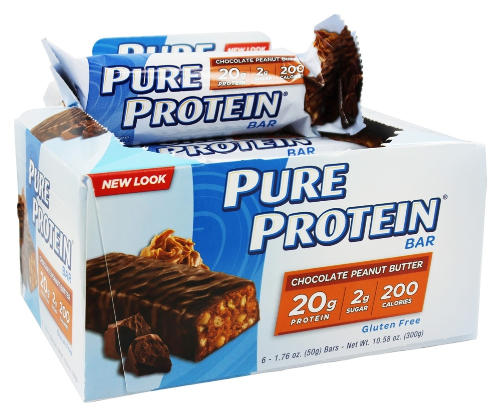 Buy Pure Protein - Protein Bar Chocolate Peanut Butter - 6 ...