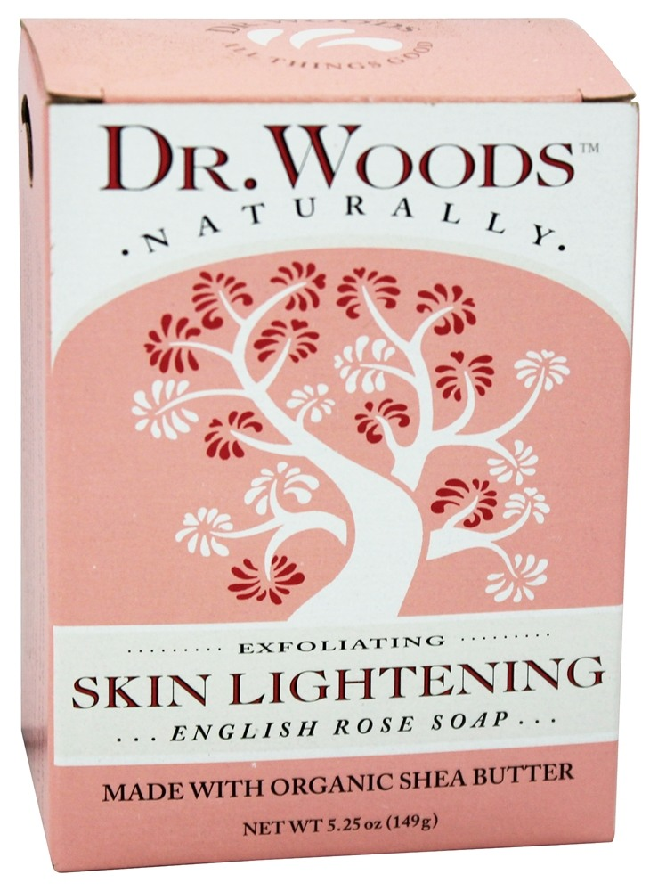 Buy Dr Woods Skin Lightening Bar Soap English Rose 5