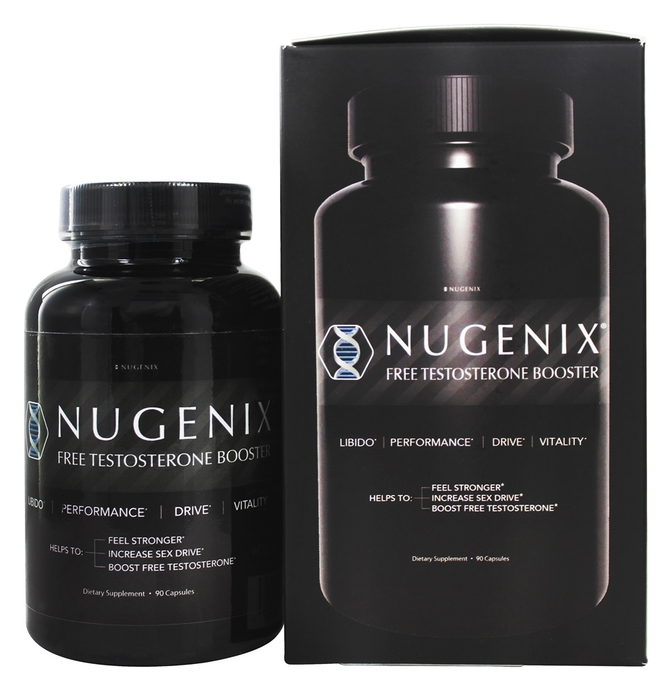 Buy Nugenix - Free Testosterone Booster - 90 Capsules at
