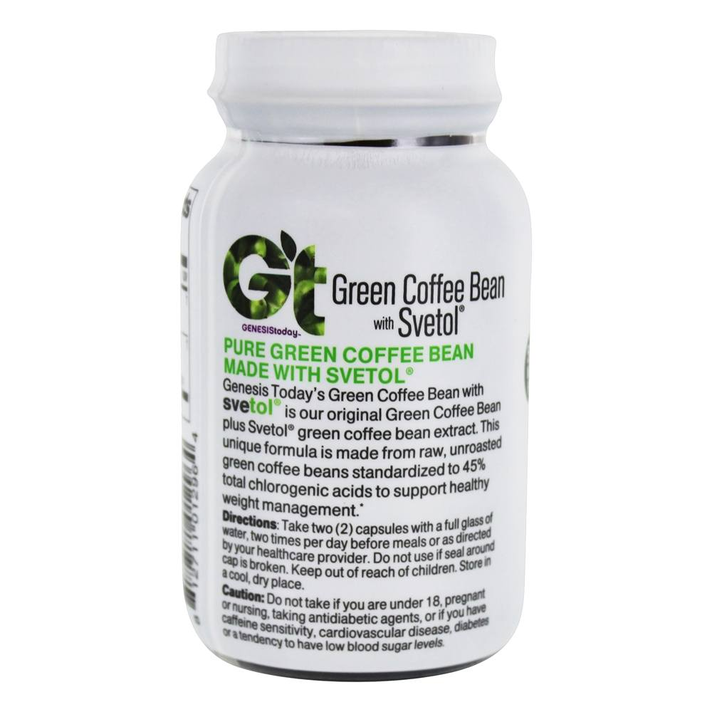 Pure health green coffee bean with svetol reviews