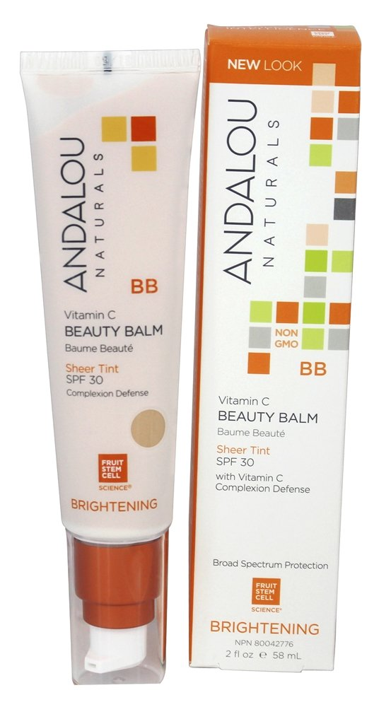 Andalou Naturals All In One Beauty Balm Brightening Sheer Tint