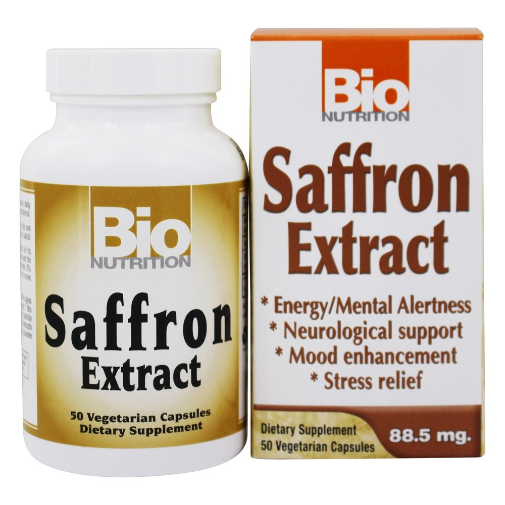 Buy Bio Nutrition Saffron Extract 88 5 Mg 50 Vegetarian