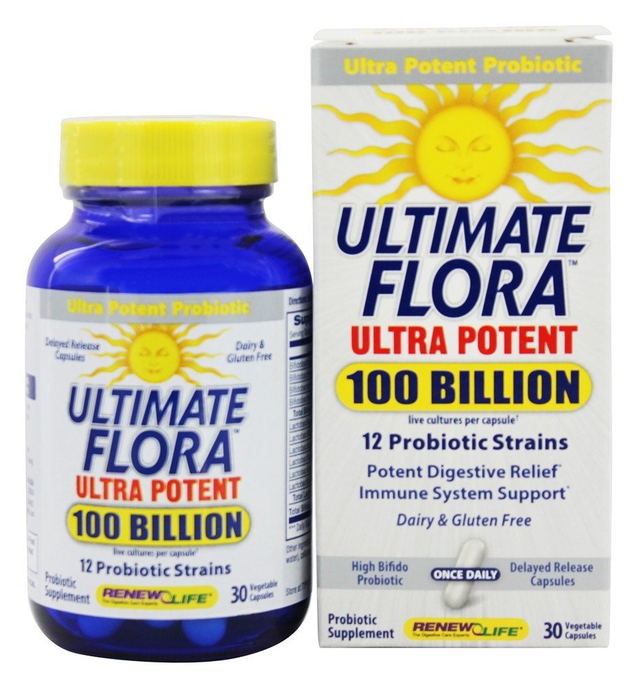 Buy Renew Life Ultimate Flora Ultra Potent Live Cultures