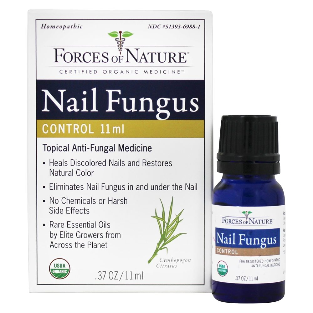 Buy Forces of Nature - Nail Fungus Control - 11 ml. at LuckyVitamin.com