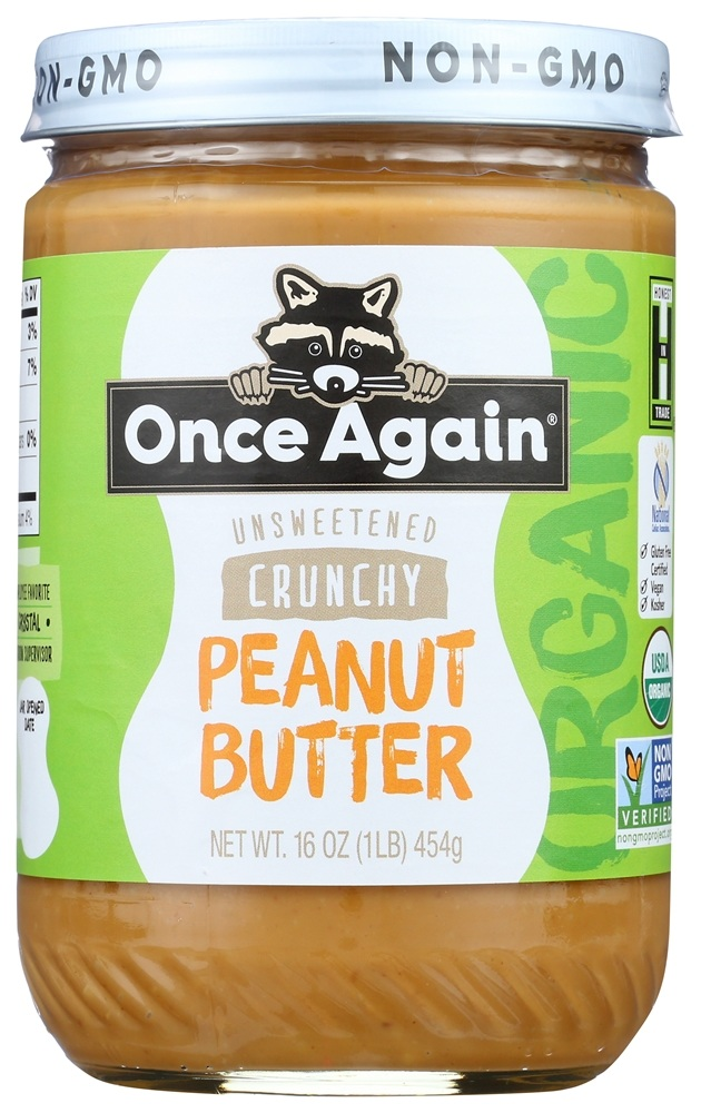 Buy Once Again Organic Peanut Butter Crunchy 16 Oz At