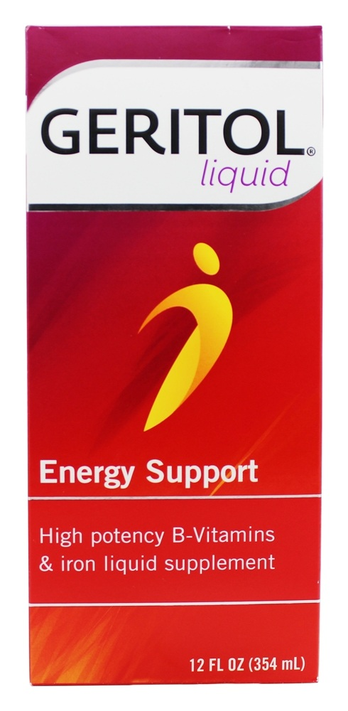 Buy Geritol Energy Support High Potency B Vitamins