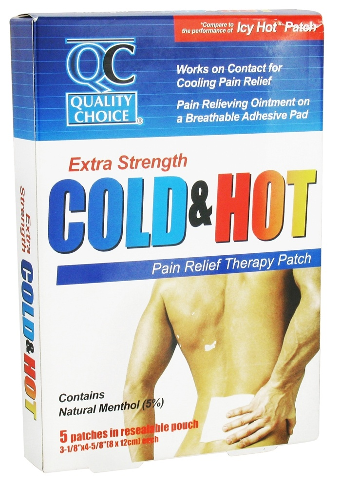 Buy Quality Choice Cold Hot Pain Relief Therapy Patch Extra