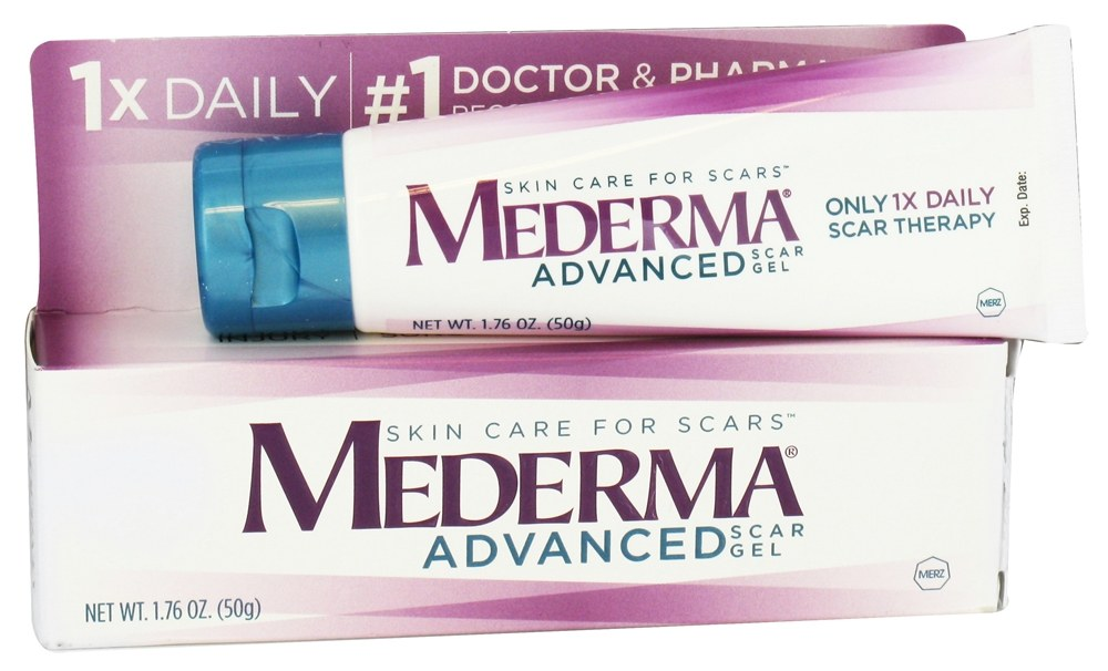 Buy Mederma Advanced Scar Gel 1 76 Oz At Luckyvitamin Com