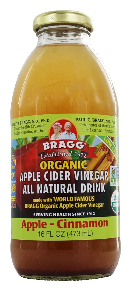 Buy Bragg - Organic Apple Cider Vinegar All Natural Drink