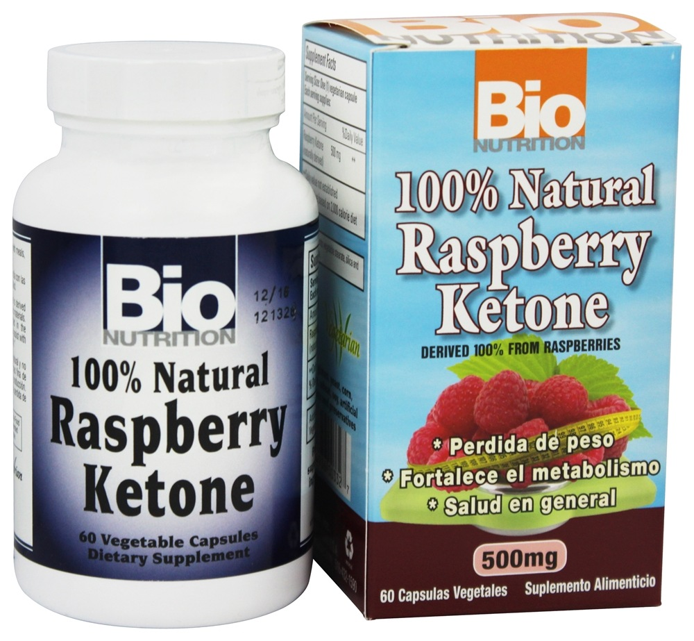 Buy Bio Nutrition - 100% Natural Raspberry Ketone 500 mg. - 60 Vegetarian  Capsules at LuckyVitamin.com