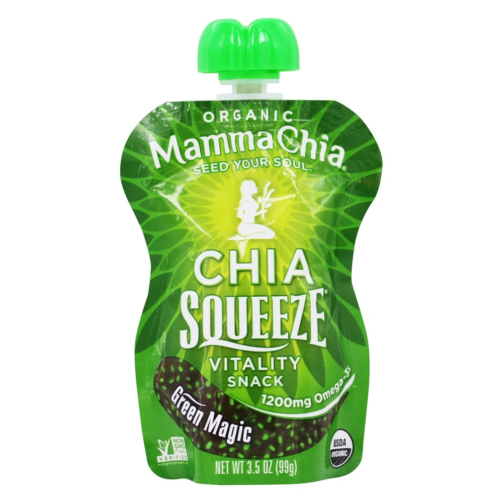 buy mamma chia organic chia squeeze vitality snack green magic 3 5 oz at. Black Bedroom Furniture Sets. Home Design Ideas