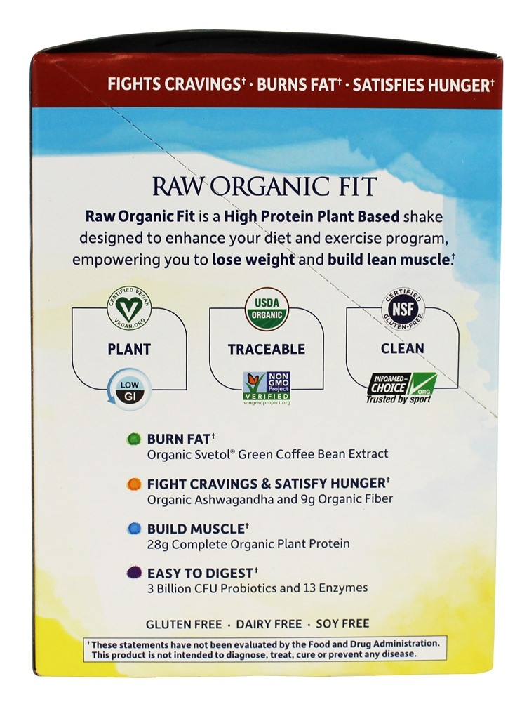 Buy Garden Of Life Raw Organic Fit High Protein For Weight Loss Coffee 10 Packet S At
