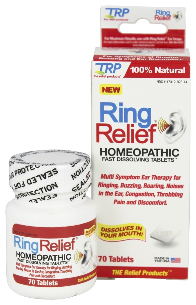 Buy TRP Company - Ring Relief - 70 Tablets at LuckyVitamin com