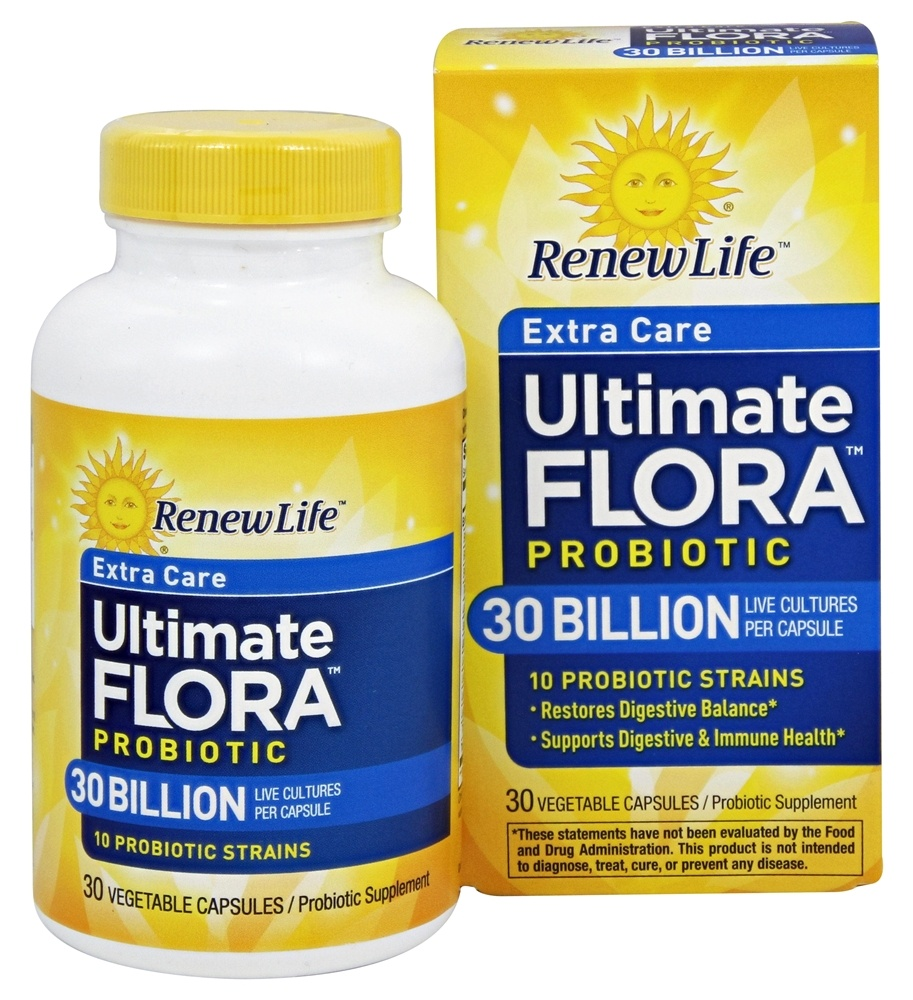Buy Renew Life Ultimate Flora Extra Care Probiotic 30