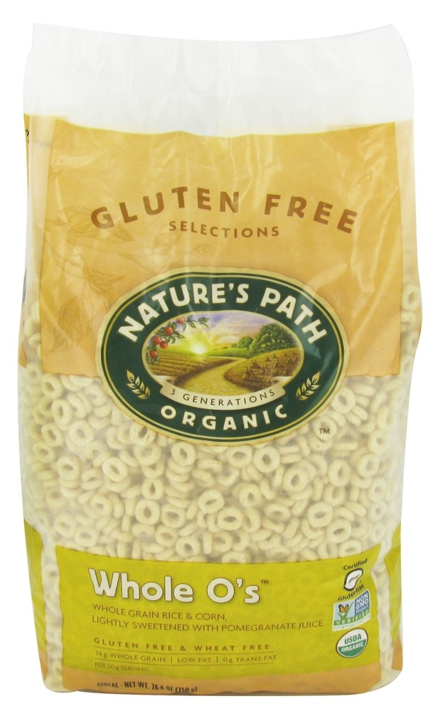 Nature S Path Organic Whole O S Gluten Free Cereal