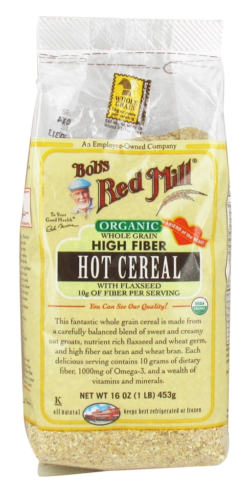 Buy Bob's Red Mill - Organic Hot Cereal Whole Grain High ...