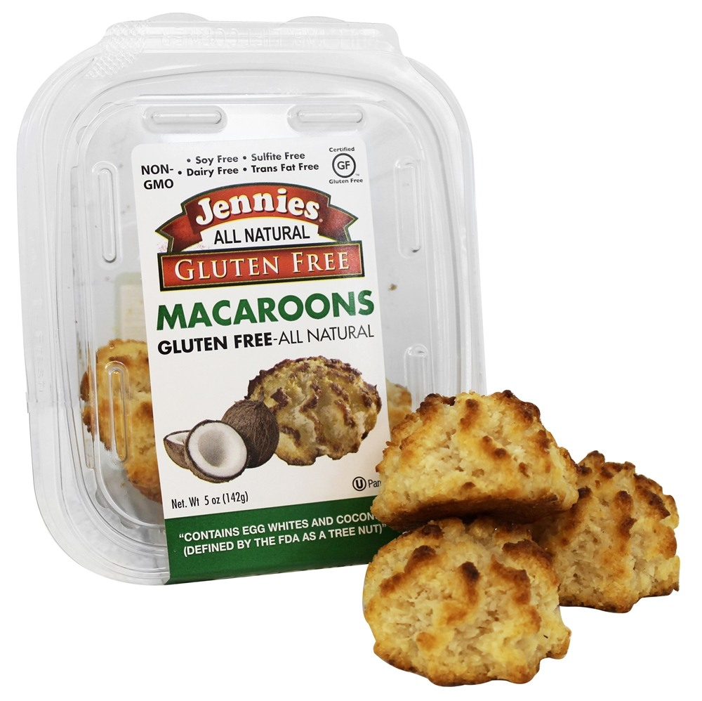 Jennies Macaroons Buy Jennies - All Natural Gluten-Free Macaroons Coconut - 5 oz. at ...