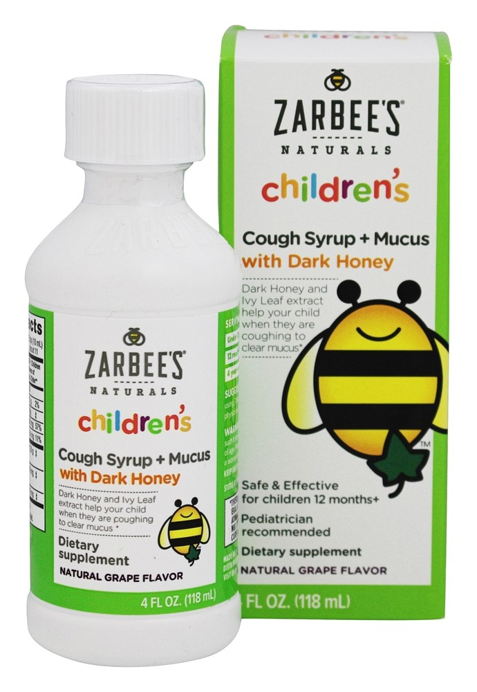 Buy Zarbee S Children S Cough Syrup Mucus With Dark