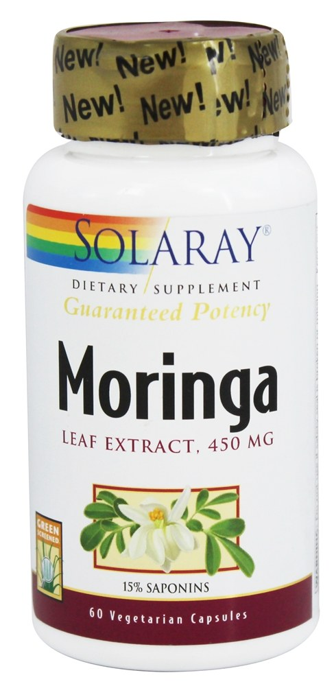 Guaranteed Potency Moringa Leaf Extract 450
