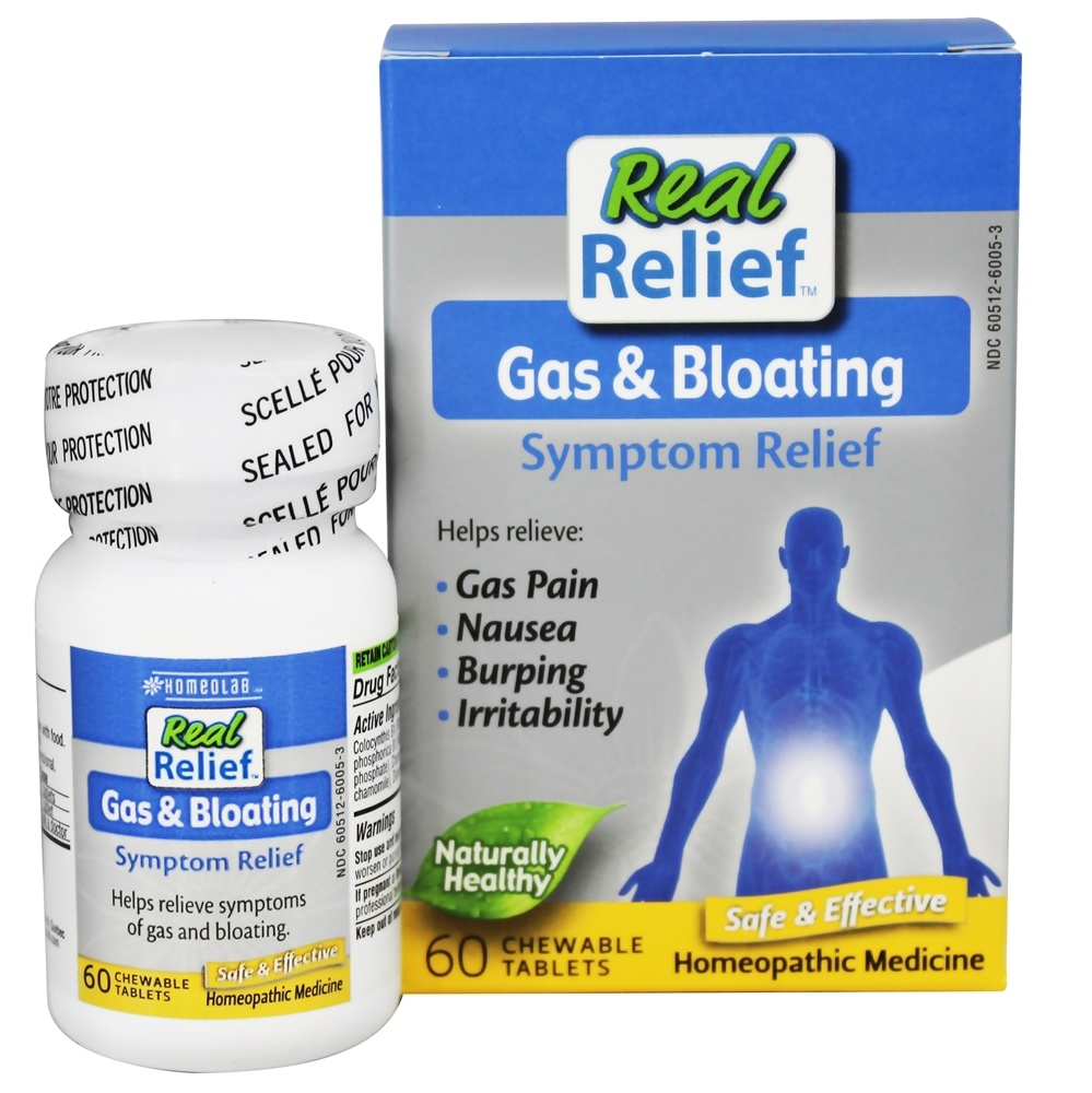 Buy Homeolab USA - Real Relief Gas & Bloating - 60 ...