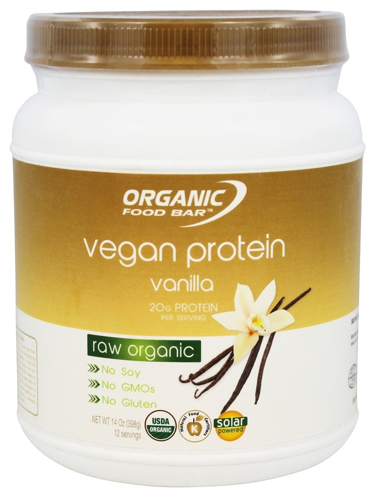 Buy organic food bar vegan protein raw organic vanilla for Organic food bar