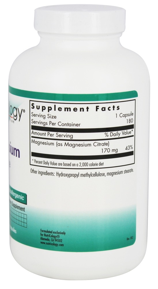 What Foods Contain Magnesium Citrate