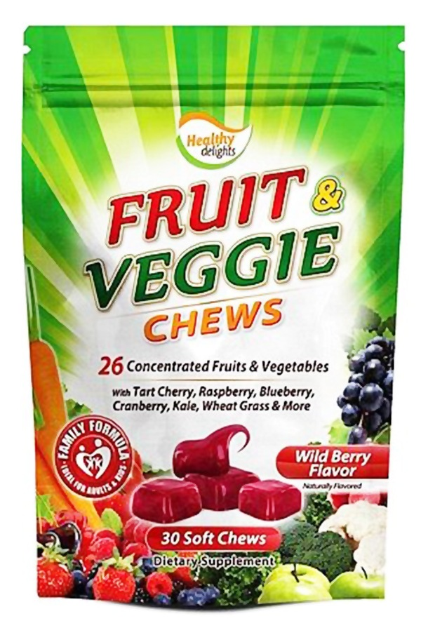 Buy Healthy Natural Systems - Fruit & Veggie Chews Wild ...