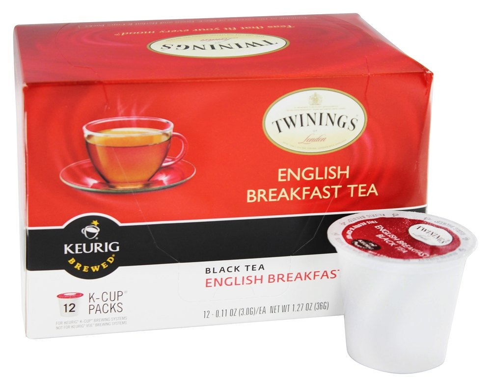 Buy Twinings of London - English Breakfast Black Tea - 12 ...