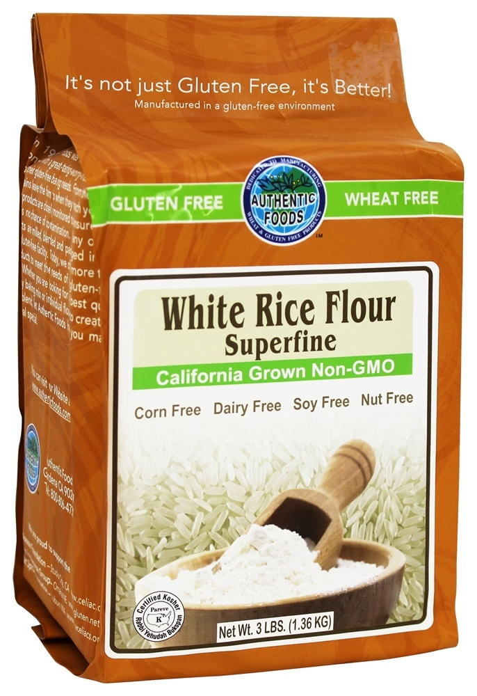 Buy Authentic Foods - Gluten-Free Superfine White Rice